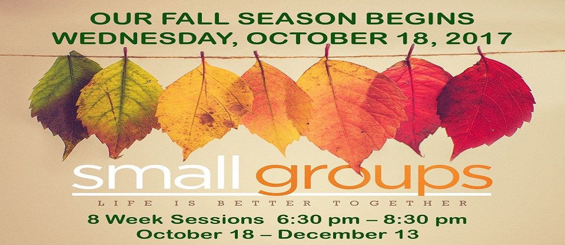 Fall 2017 Small Groups 1 – website