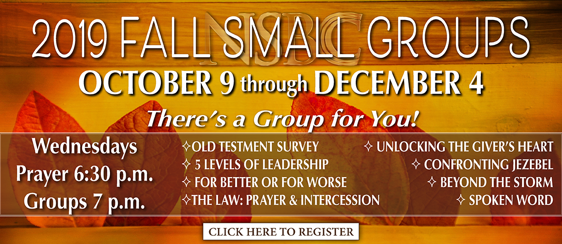 2019w FALL Small Groups