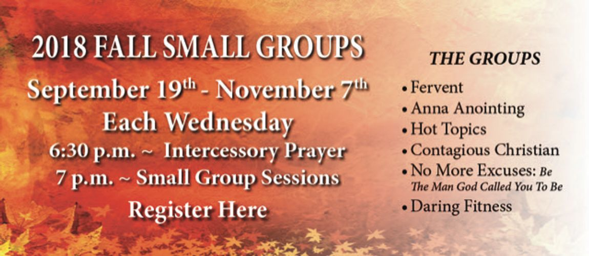2018w Fall Small Groups (1)