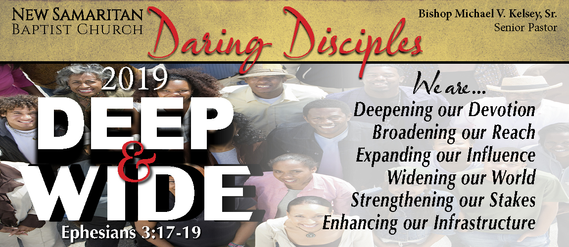 2019w Daring Disciples Theme